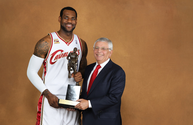 David Stern 'Always Thought' LeBron Would Sign With Lakers