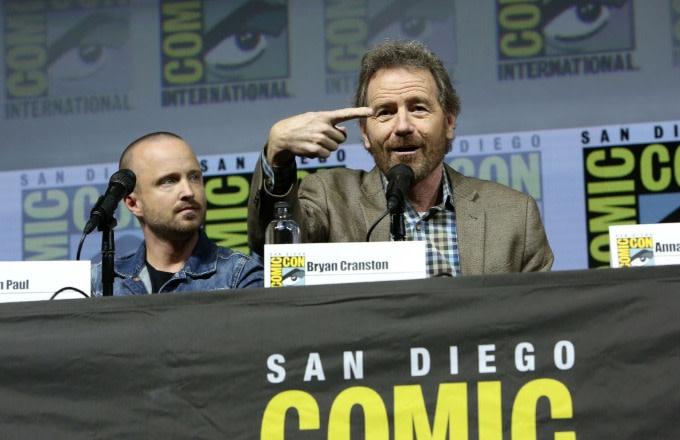 'Breaking Bad' Stars Aaron Paul and Bryan Cranston Are Teasing Something