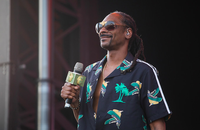 Snoop Dogg Is Getting a Star on the Hollywood Walk of Fame