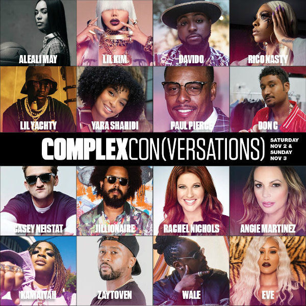 Announcing the ComplexCon(versations) Lineup for ComplexCon Long Beach 2019