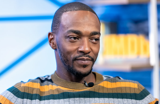 Anthony Mackie Recalls His Email Pitch to Marvel