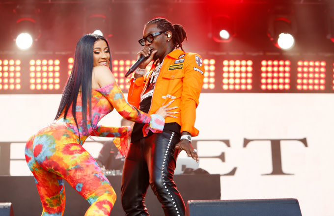 Cardi B Got Offset's Name Tattooed On Her Leg