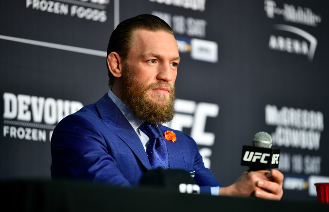 Conor McGregor Called Donald Trump 'Phenomenal President' and Fans Are Pissed