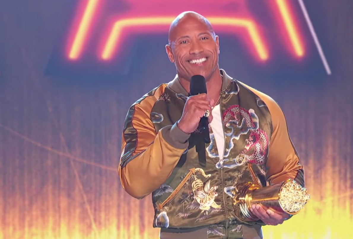 The Rock Talks Importance of Being Kind in Inspiring MTV Movie & TV Awards Speech