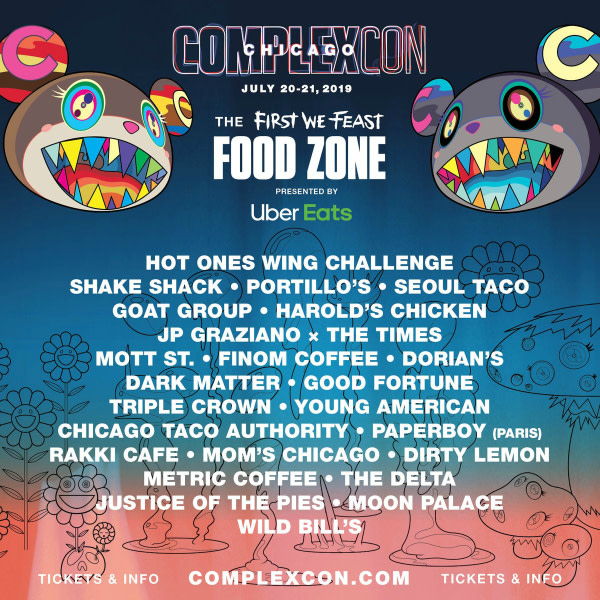 First We Feast Unveils Food Zone Lineup for ComplexCon Chicago