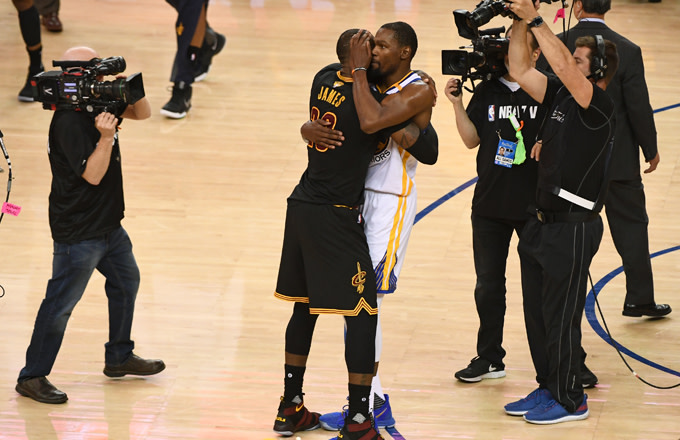 The Assassination of LeBron James by the Coward Kevin Durant