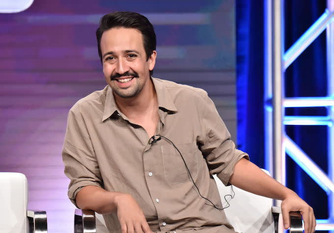 Lin-Manuel Miranda, Billy Porter Make Cameos in 'SNL' Cold Open Parodying LGBTQ Presidential Town Hall