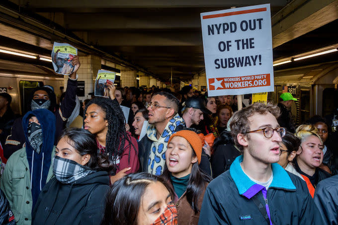 NYPD Cops Were Told to 'Go After' Black and Latino Citizens for Minor Subway Offenses