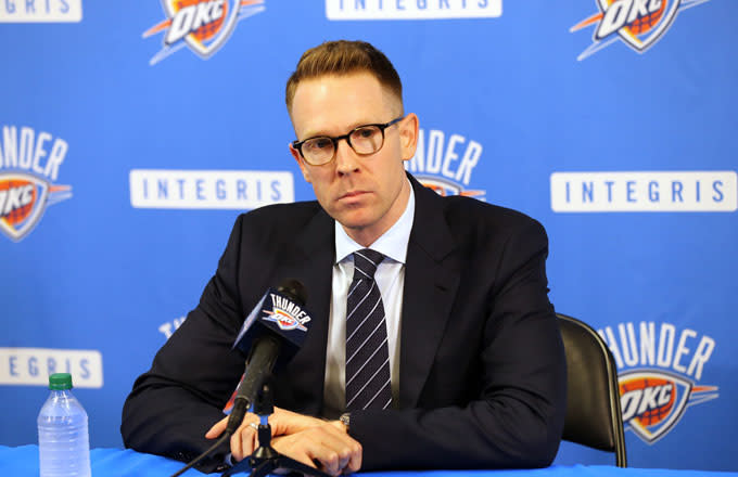 Thunder GM Sam Presti Reportedly 'Acted Like His Dog Died After Trading Away Paul George'