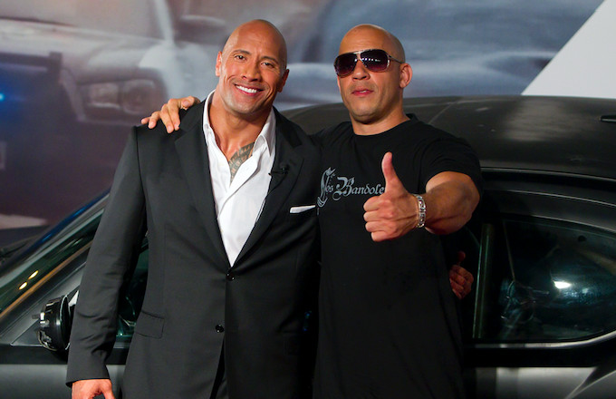 Dwayne Johnson Thanks Vin Diesel for All His Support, Hints at On-Screen Reunion