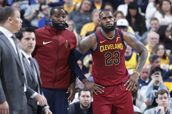 Kendrick Perkins Says LeBron Wanted Carmelo on the Cavs But Team Said No