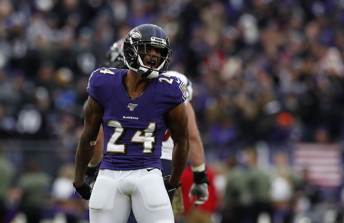 Ravens' Marcus Peters Goes After Jalen Ramsey Following 'MNF' Game