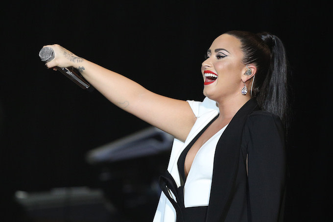 Demi Lovato Shares Unedited Bathing Suit Photo: 'Here's Me, Unashamed, Unafraid and Proud'