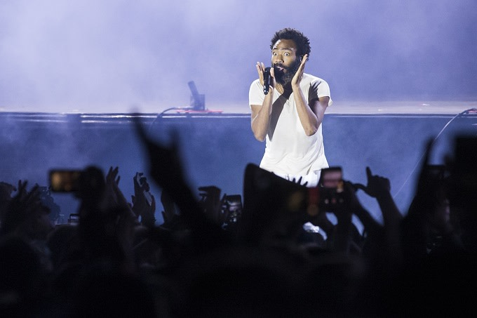 "Childish Gambino Joins 21 Savage for ""Monster"" at Lollapalooza"