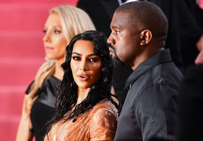 Kim Kardashian Pushes Back Against Kanye West's Claim That Her Met Gala Look Was 'Too Sexy'