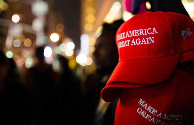 Video Shows Crowd Confronting Man Who Wore a MAGA Hat to NZ Massacre Vigil