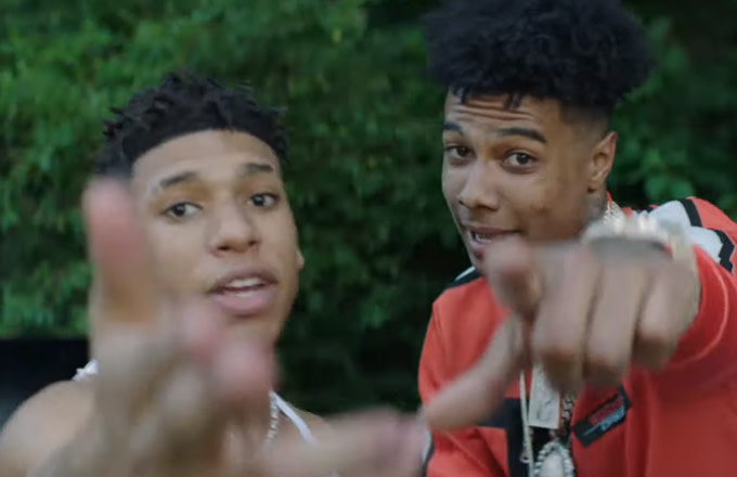"""16-Year-Old Rapper NLE Choppa Recruits Blueface for """"Shotta Flow"""" Remix Video"""