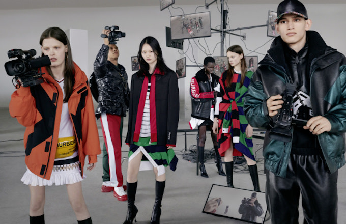 Riccardo Tisci Taps Nick Knight and Danko Steiner for Burberry's Fall/Winter '19 Campaign