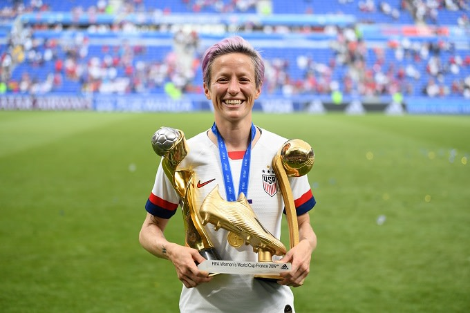 USWNT's Megan Rapinoe Quotes Nipsey Hussle in Celebratory World Cup Post