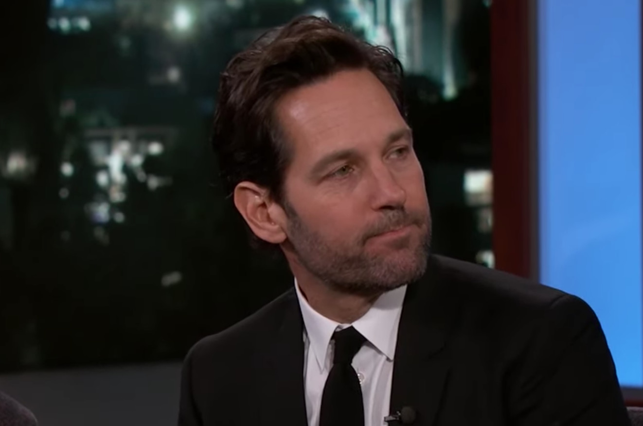 Paul Rudd Says What He Can Say About New 'Ghostbusters' on 'Kimmel'