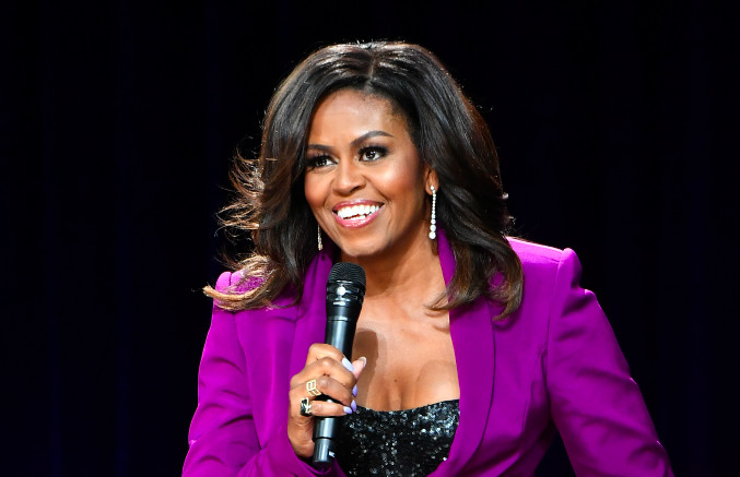 Michelle Obama Shares Her Workout Playlist f/ Cardi B, Bruno Mars, Meek Mill, and More