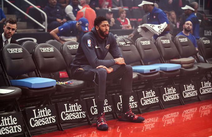 Anthony Davis Reportedly Isn't Playing for Pelicans Beyond This Season