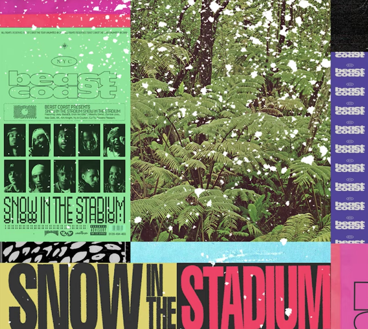 """Beast Coast Shares """"Snow in the Stadium"""" Produced by Erick the Architect"""