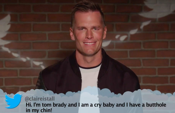 Watch Tom Brady, Patrick Mahomes, and More Read Mean Tweets on 'Kimmel'