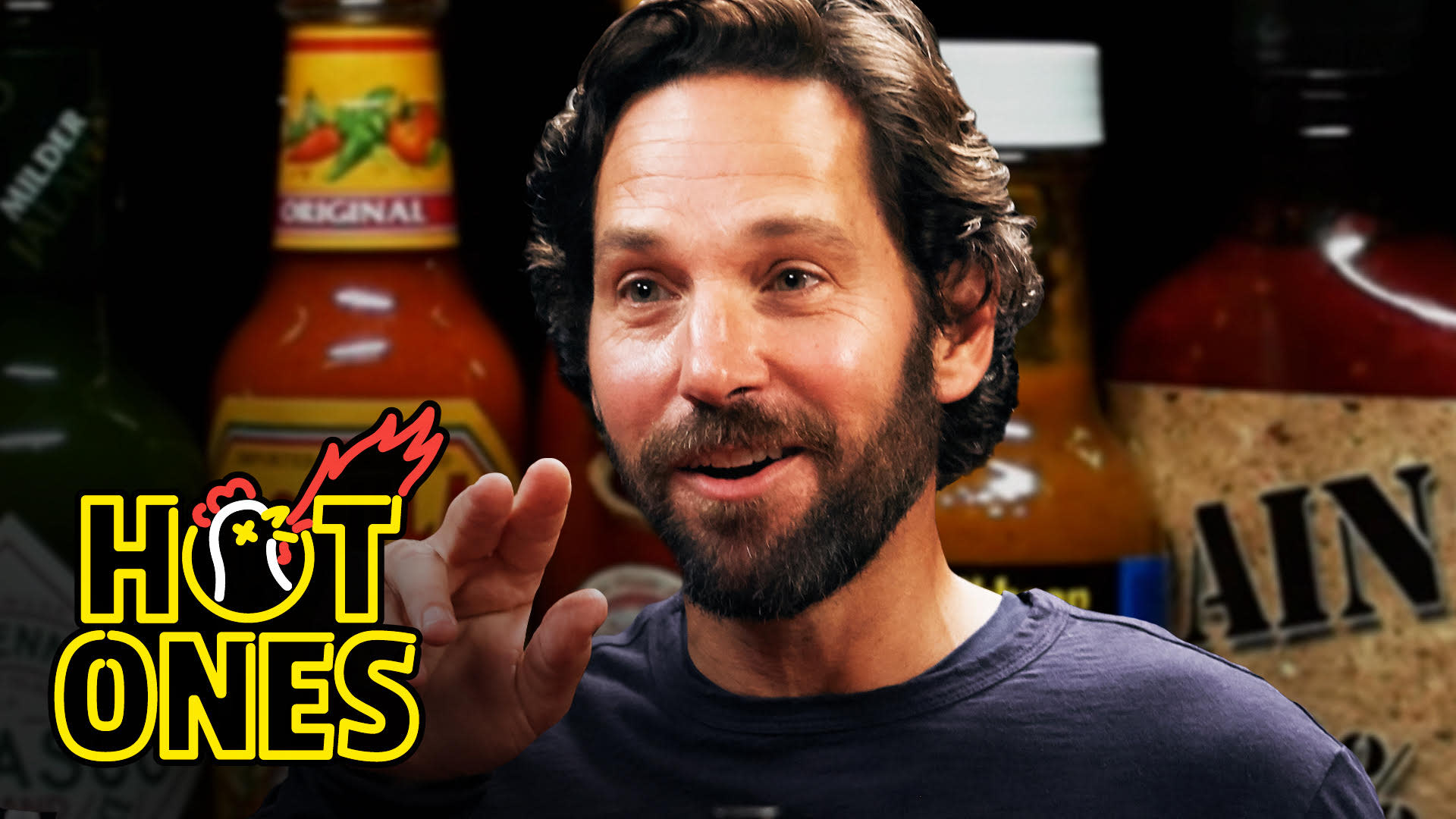 Paul Rudd's 'Hot Ones' Episode Inspires Highly Relatable 'Look at Us' Meme