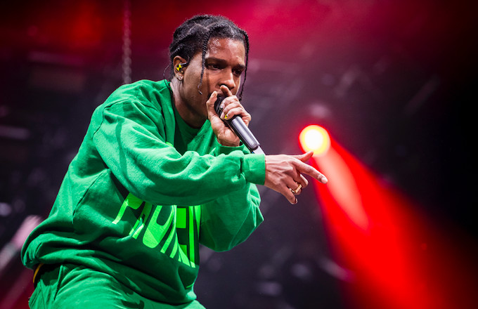 ASAP Rocky Performs in Giant Cage During His First Return to Sweden