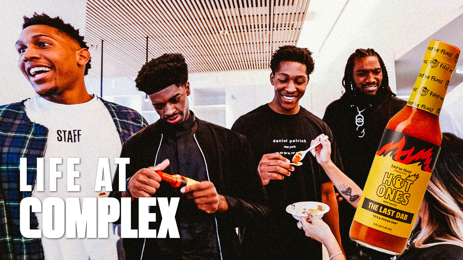 NBA G-League Players Take Over Complex & Try Last Dab Hot Sauce | Life At Complex