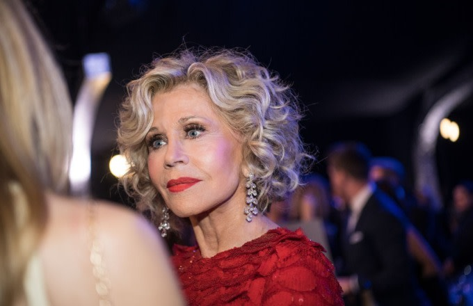 Video Shows 81-Year-Old Jane Fonda Getting Arrested at Climate Change Rally on U.S. Capitol Steps