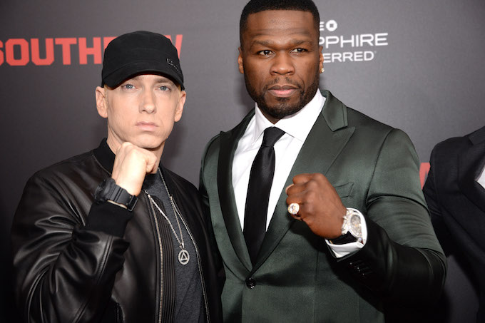 50 Cent Joins Eminem and Nick Cannon's Beef, Takes Shots at Cannon