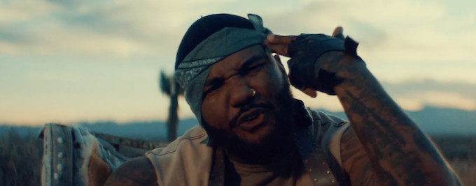 "Premiere: The Game Rides Around a Post-Apocalyptic Wasteland in ""West Side"" Video"