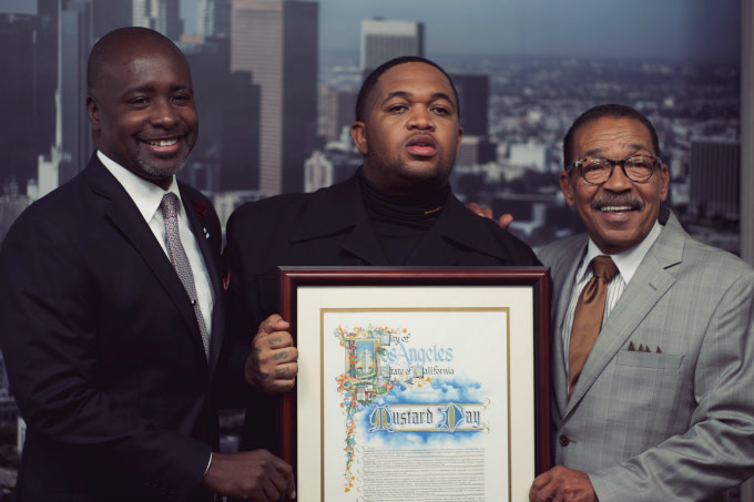 """Los Angeles Honors Mustard by Declaring June 19 """"Mustard Day"""""""