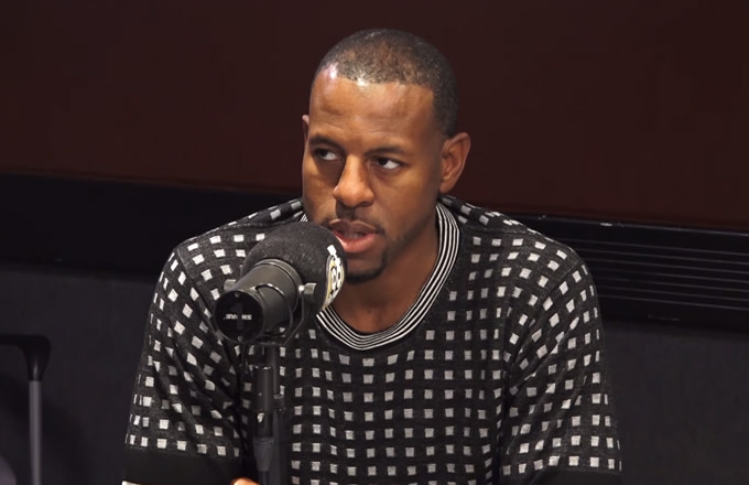 Andre Iguodala Says There's a Double Standard Over Criticism LeBron Received for China Comments