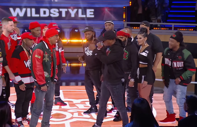 Nick Cannon Takes on Lupe Fiasco for a Rap Battle on 'Wild 'N Out'