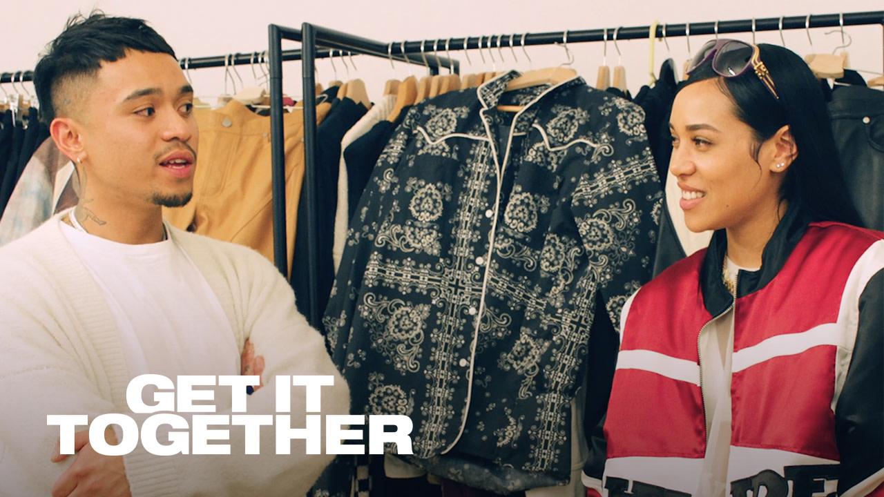 Aleali May Attends Virgil Abloh's LV Show & Chats With Rhude's Rhuigi Villaseñor | Get It Together