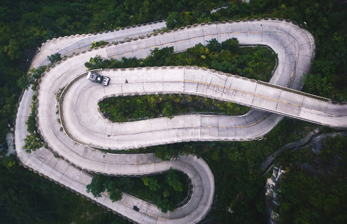 Ken Block Takes on China's Most Dangerous Road for 'Climbkhana Two'