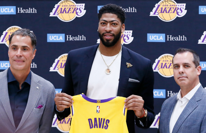 Anthony Davis Says He Doesn't Regret In-Season Trade Demand