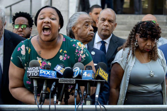 Eric Garner's Daughter Launches Petition Demanding Police Officer Who Killed Him Be Fired