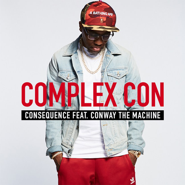 """Premiere: Consequence Recruits Conway the Machine for New Collab """"Complex Con"""""""