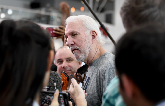 Gregg Popovich Says Colin Kaepernick's Anthem Protests Were a 'Very Patriotic Thing'
