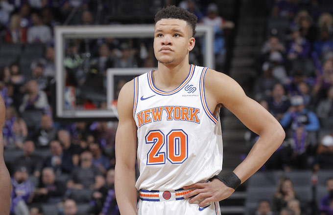 Kevin Knox Plays 'Fortnite' With James Dolan's Sons 'All the Time'