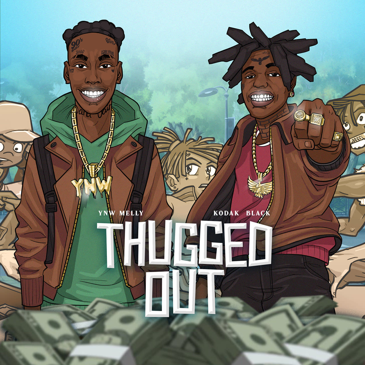 YNW Melly and Kodak Black Team-Up on New Single Thugged Out