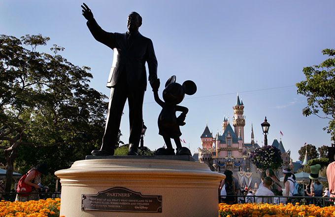 Disney Heiress 'Livid' With Disneyland Working Conditions