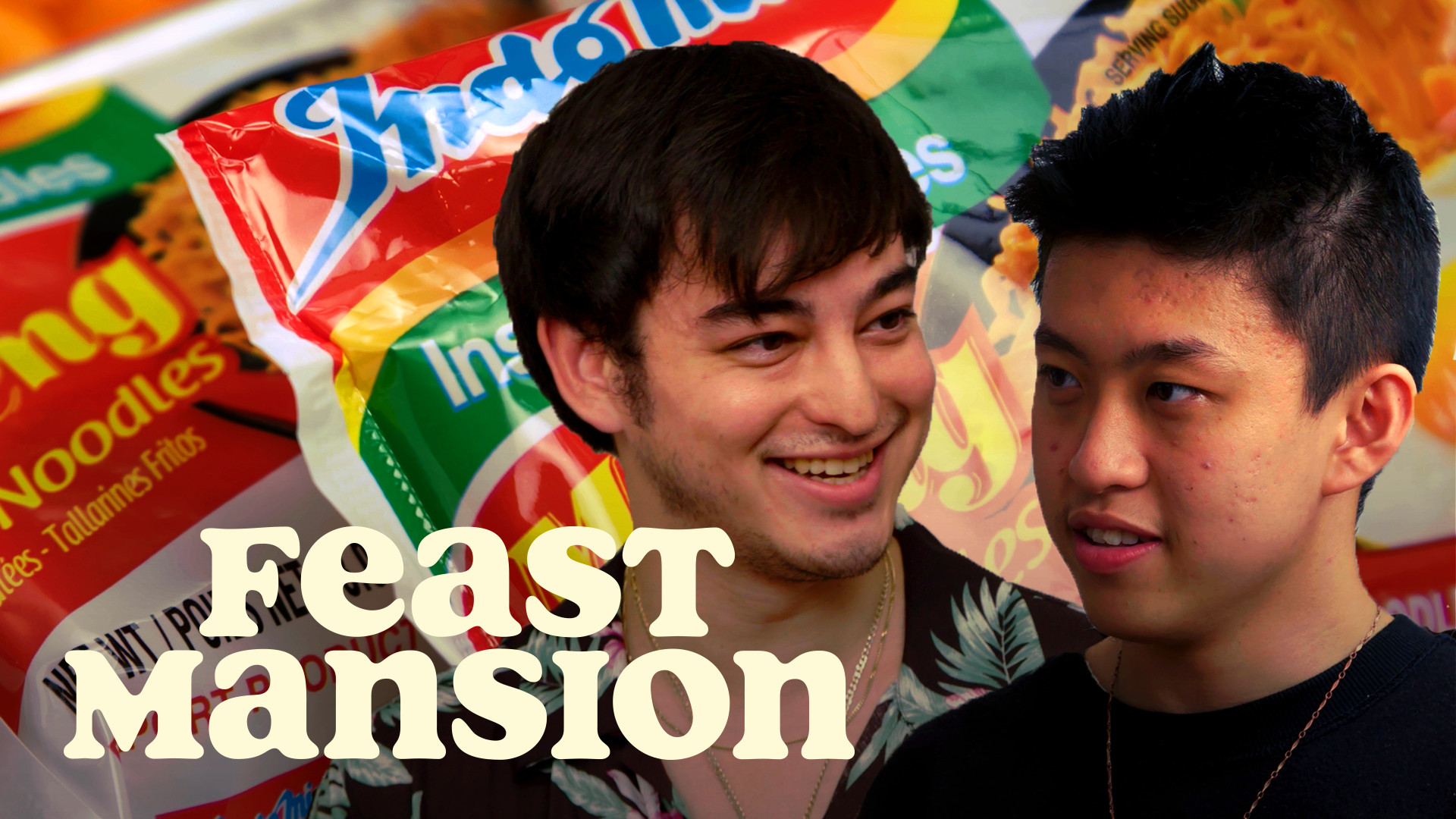 Joji and Rich Brian Have an Instant Noodle Battle   Feast Mansion