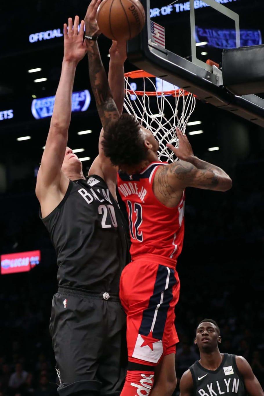 best website 17f6f 57b8f Kelly Oubre Jr Wears Supreme Nike NBA Shooting Sleeve in ...