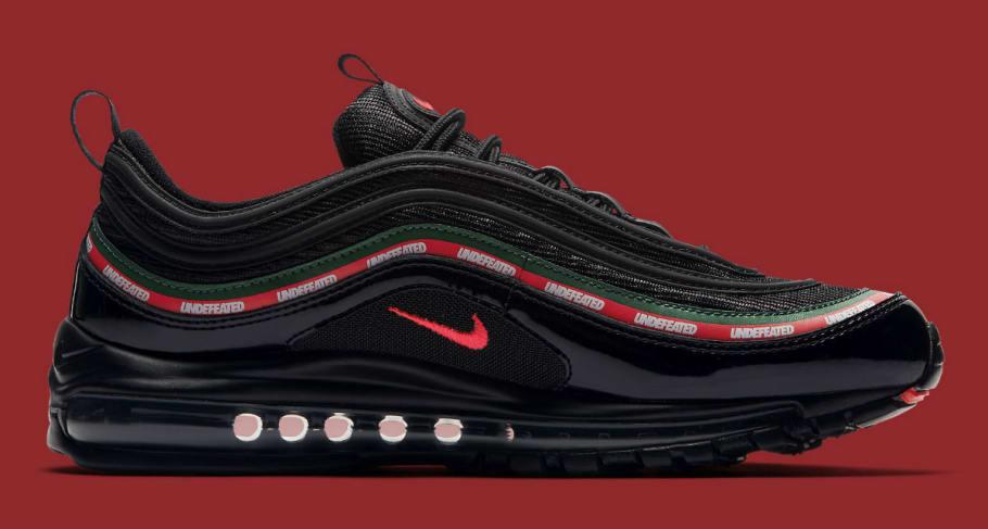 2017 UNDFTD x Nike Air Max 97 OG Black | AJ1986 001 From