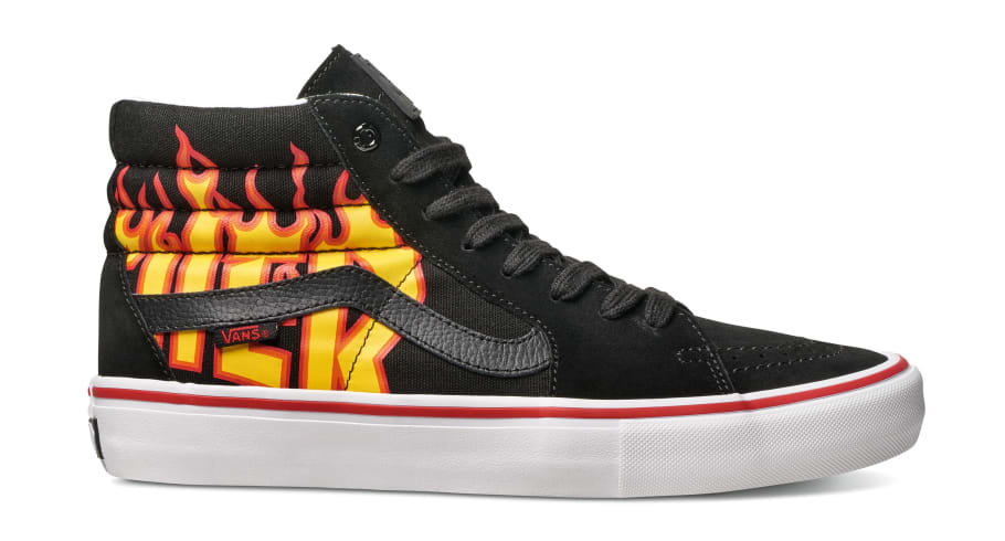 Vans Thrasher Flame Sneakers   Sole Collector